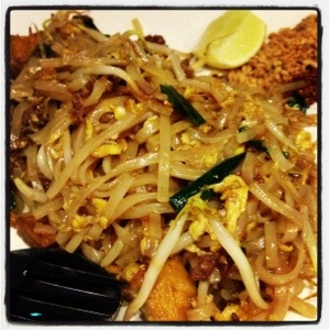 Delicious Beef Phad Thai