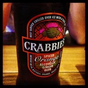 Crabbie's Spiced Orange Alcoholic Ginger Beer