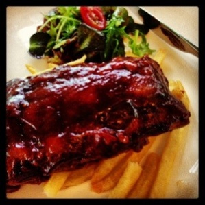 1/2 Rack of Pork Ribs