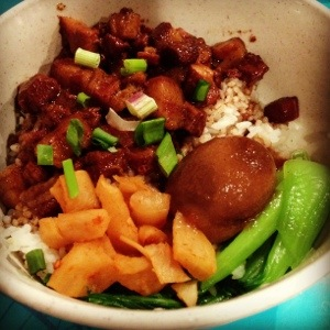Braised Minced Pork Rice