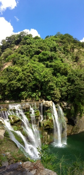 Magnificent Shifen Waterfall