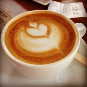 Expresso + milk = latte