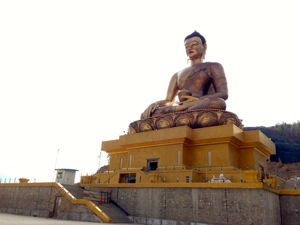 Biggest outdoor Buddha statue