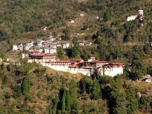 Largest and longest dzong