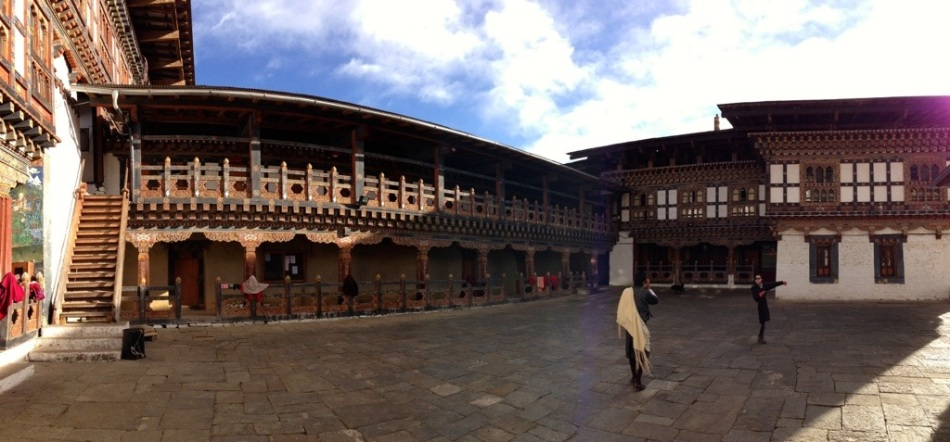 Trongsa Dzong is the largest in Bhutan