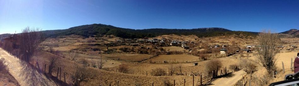 Beautiful view of Ura Valley