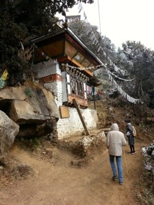 Cave where the 69th Chief Abbot of Bhutan was born in 1926