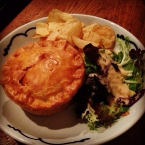 Steak and Cheese Pie