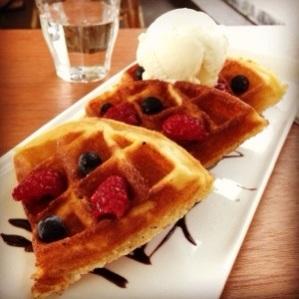 Berrylicious Waffle