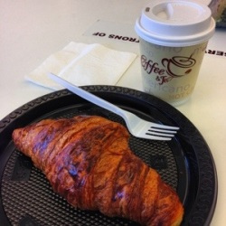 Bacon Cheese Croissant