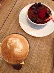 Tiramisu with Latte