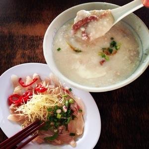 Cantonese-style porridge