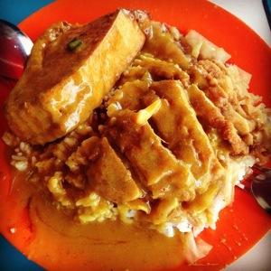 Yummy curry rice!