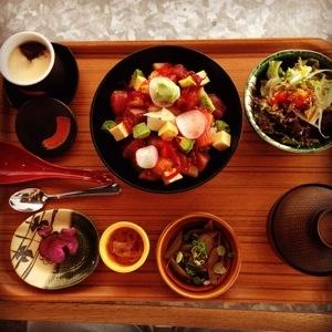 Sashimi Bakudan Chirashi Don Set