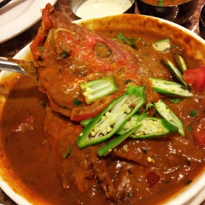 Half Fish Head Curry