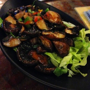 Stir Fried Button Mushroom