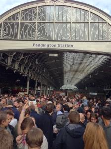 Paddington in a chaos!
