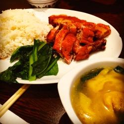 Roast Pork and Soup Wanton
