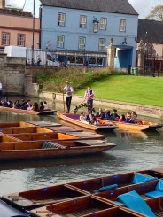 You can rent a private punt too!