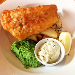 Beautiful fish & chips