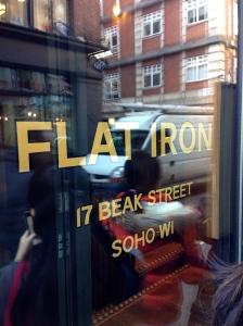 Flat Iron Soho branch