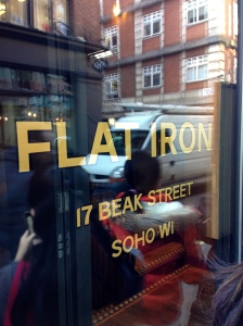 Flat Iron Soho branch