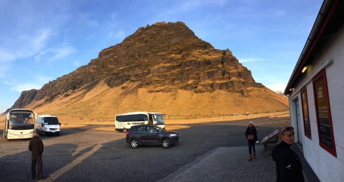 Eyjafjallajökull in the background
