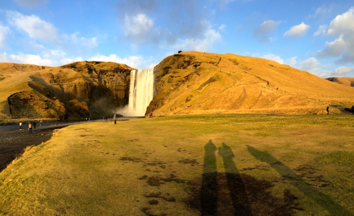 Skógafoss is one of Iceland´s most beautiful waterfalls