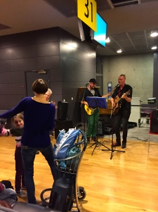 Live band at at the gate