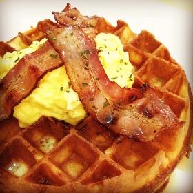 Savoury Waffle