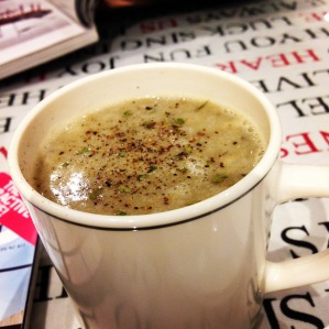 Muddy Mushroom Soup
