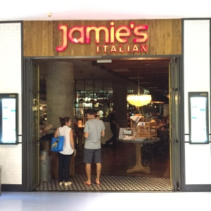 Jamie's first (and maybe last) restaurant in Singapore
