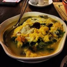 Spinach in Egg Sauce