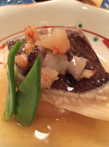 Snapper with Daikon