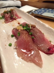 Aburi Wagyu Beef Sushi