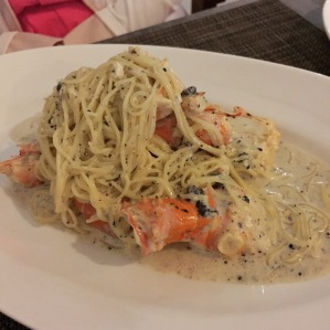Alaskan King Crab with Angel Hair