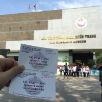 Tickets to War Remnants Museum