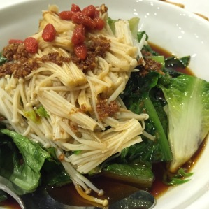 Golden Sauce with Oat Vegetables  金针香麦菜