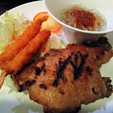 Thai style Pork Chop