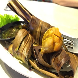 Pandan-Wrapped Chicken