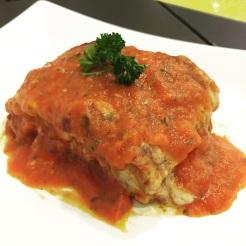 Minced Chicken Lasagne