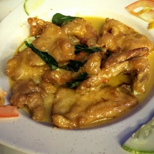 Fried Pork Rib with Salted Egg