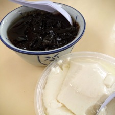 Grass Jelly and Iced Beancurd Tofu