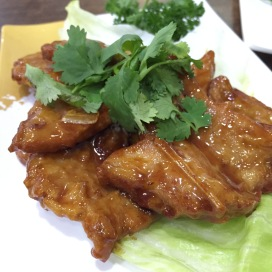 妈蜜排骨 Fried Pork Rib with Marmite Sauce