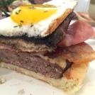 Portobello Beef Burger