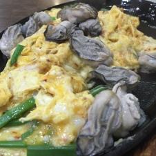 铁板蚝煎蛋 Oyster Omelette