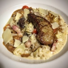 Risotto with Pancetta and Foie Gras
