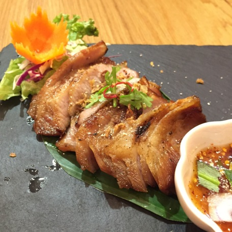 Grilled Pork Collar Kor Moo