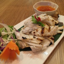 Grilled Squid Pla Meuk Yang