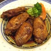 Chicken Wings in Swiss Sauce